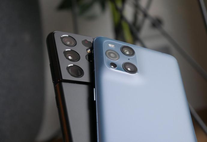 Samsung Galaxy S21 Ultra Oppo Find X3 Pro Kamera