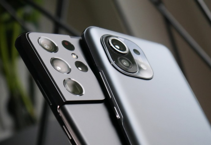 Samsung Galaxy S21 Ultra Xiaomi Mi 11 Header