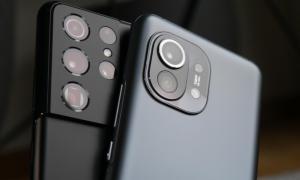 Samsung Galaxy S21 Ultra Xiaomi Mi 11 Kamera