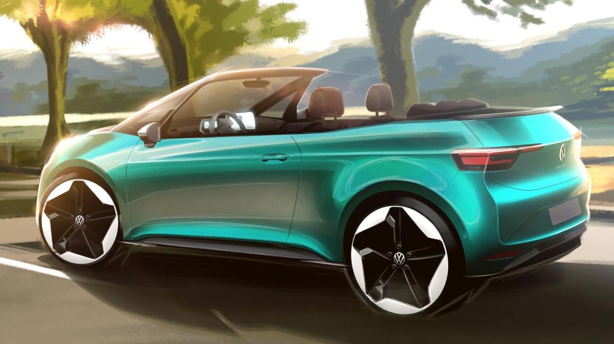 VW ID.3: Volkswagen denkt über Cabrio nach