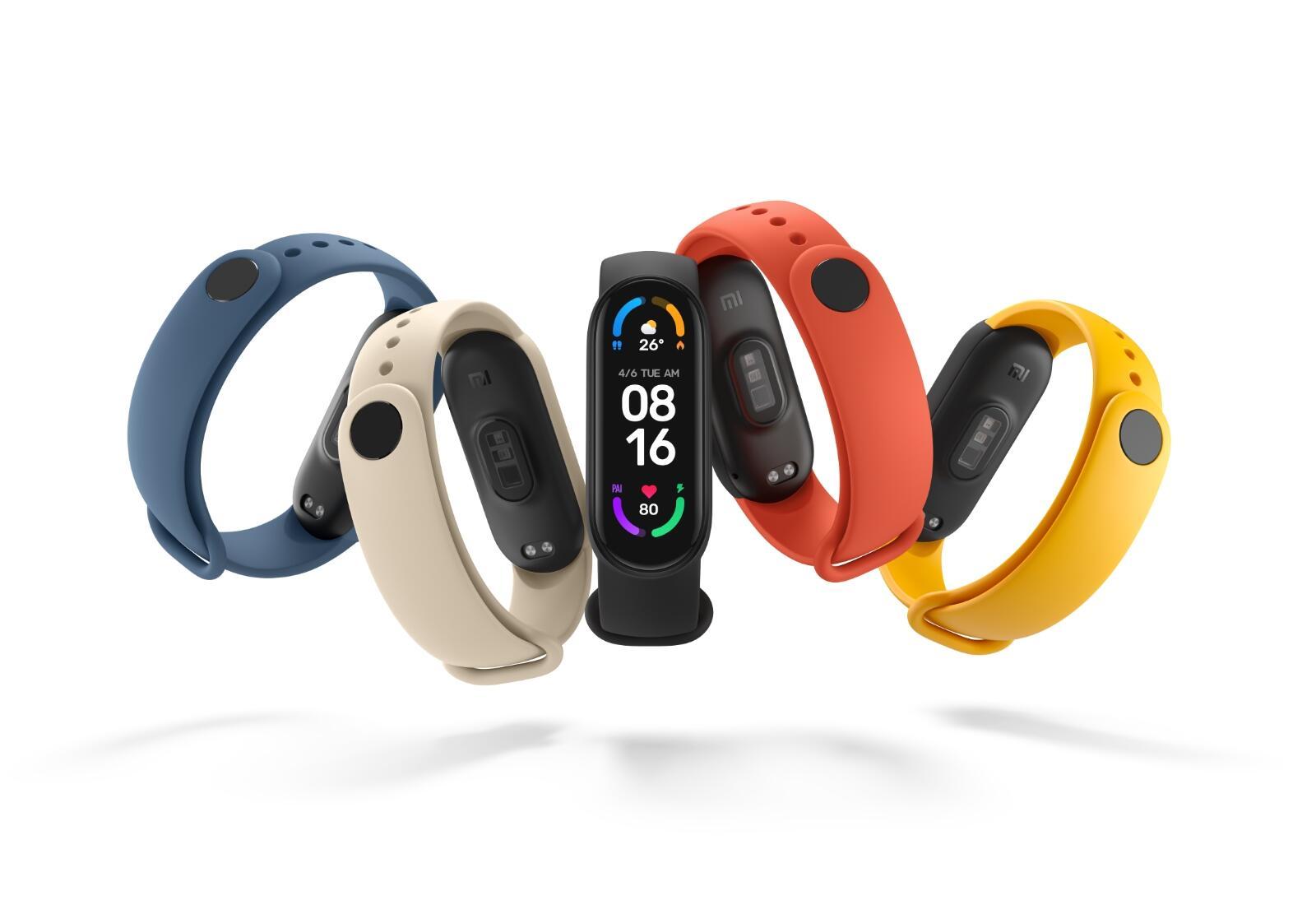 Xiaomi Mi Band 6 Farben