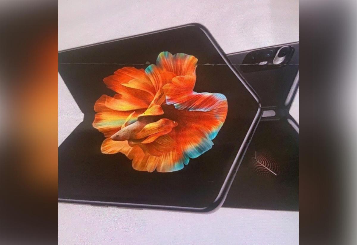 Xiaomi Mi Mix Fold Leak
