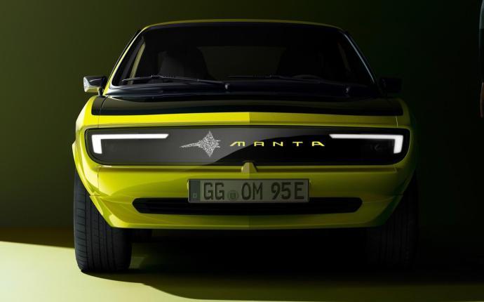 2 Opel Manta Gse Elektromod Pixel Vizor