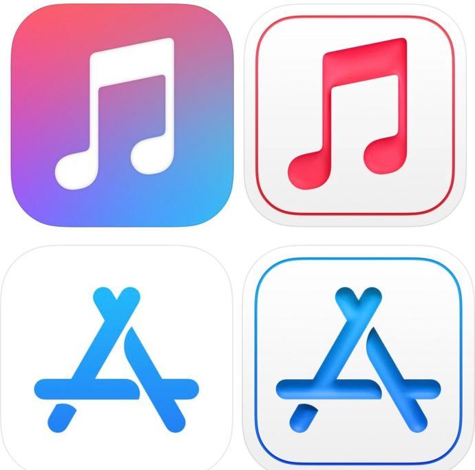 Apple App Icons Design Neu Ios 15