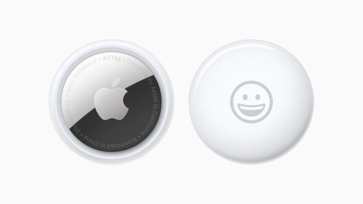 Apple Airtag Front And Back Emoji 2up 042021