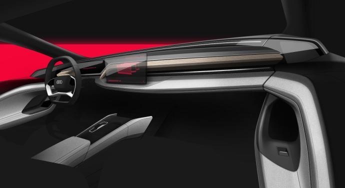 Audi A6 Etron Innenraum Konzept