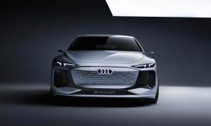 Audi A6 Etron Konzept Front