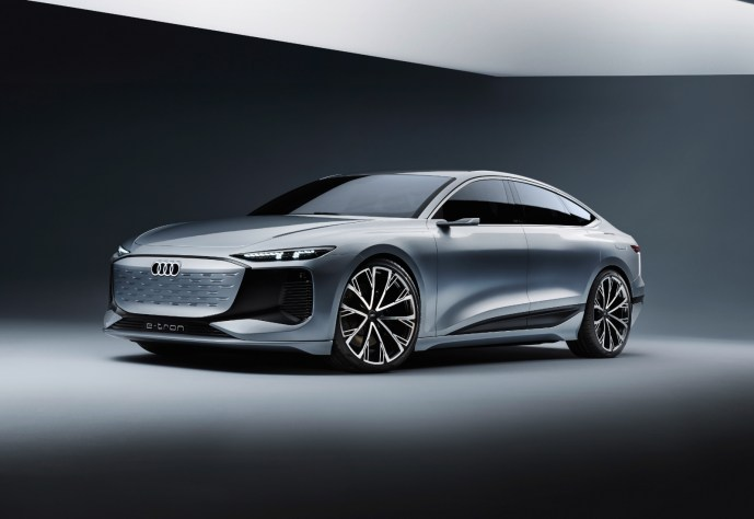 Audi A6 Etron Konzept