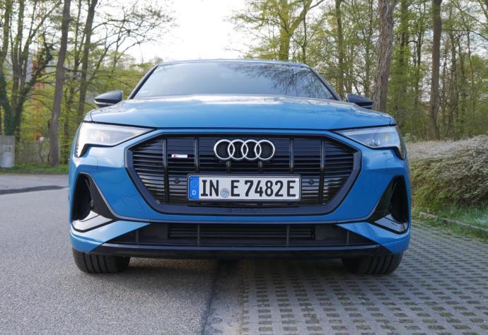 Audi Etron 2021 Front S Line