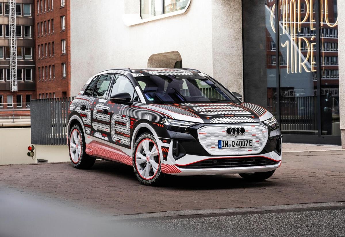 Audi Q4 Etron Folie