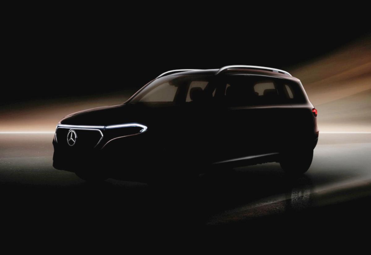 Mercedes Benz Eqb Teaser