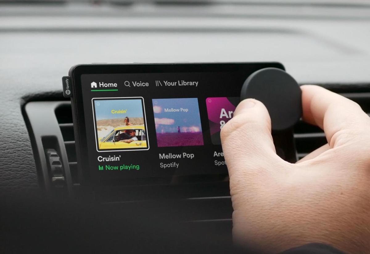 Spotify Car Thing Header