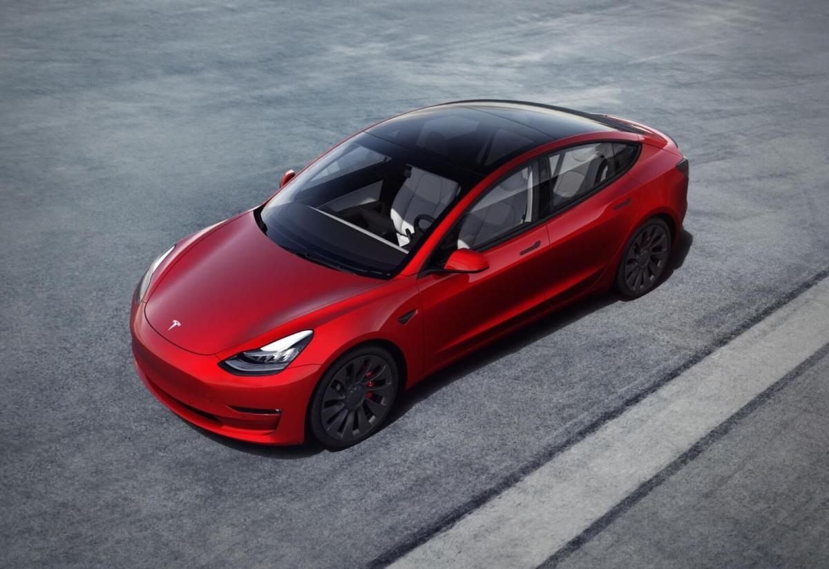 Tesla Model 3 Performance 2021
