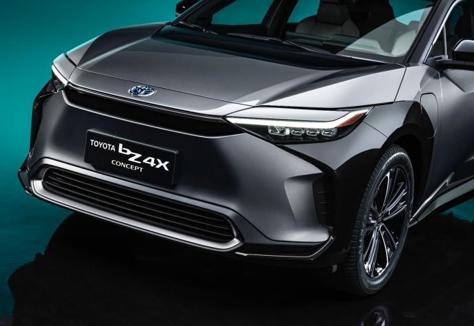Toyota Bz4x Front Header
