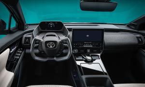 Toyota Bz4x Innen