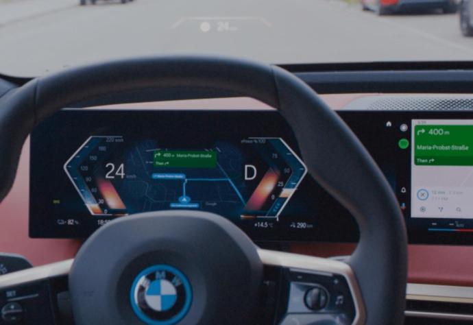 Bmw Ix Android Auto Display