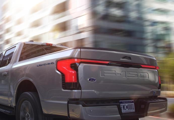 Ford F150 Lightning Back