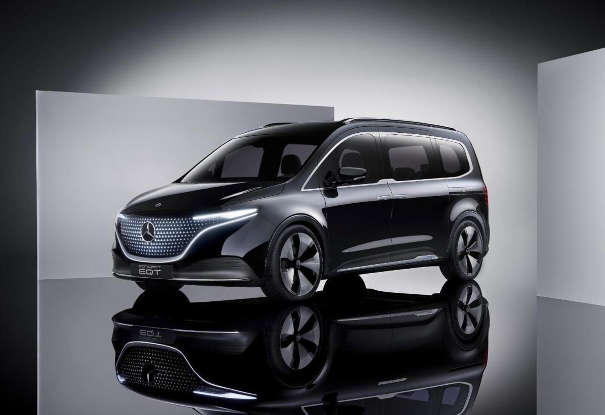 Mercedes Benz Eqt Konzept Header