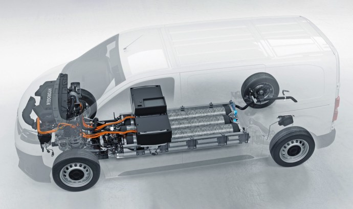 Opel Vivaro E Hydrogen 2