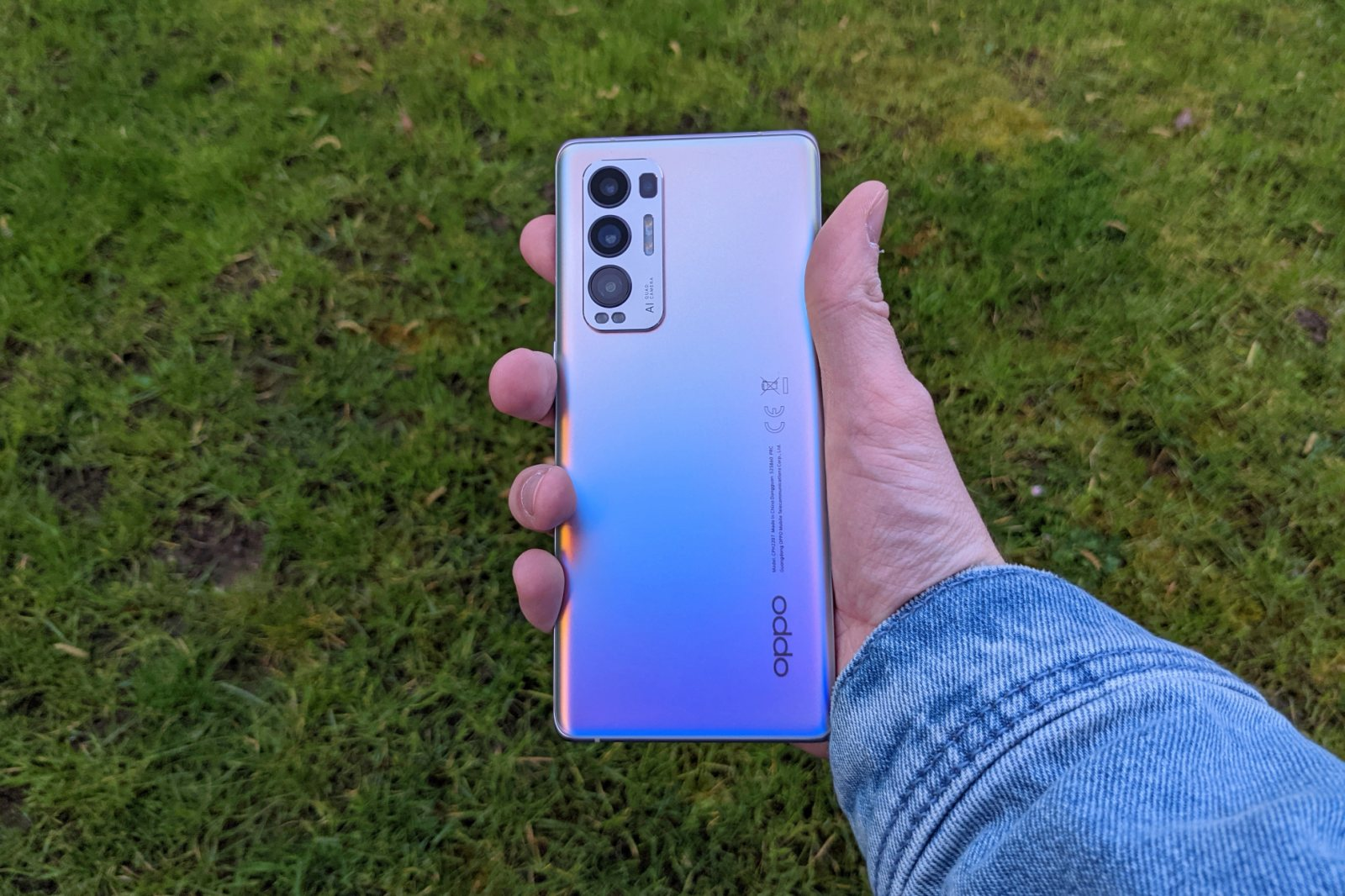 Oppo Find X3 Neo Back 1