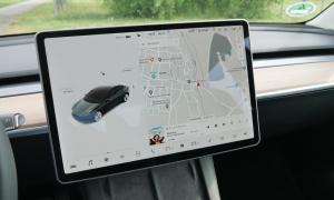 Tesla Model 3 2021 Display
