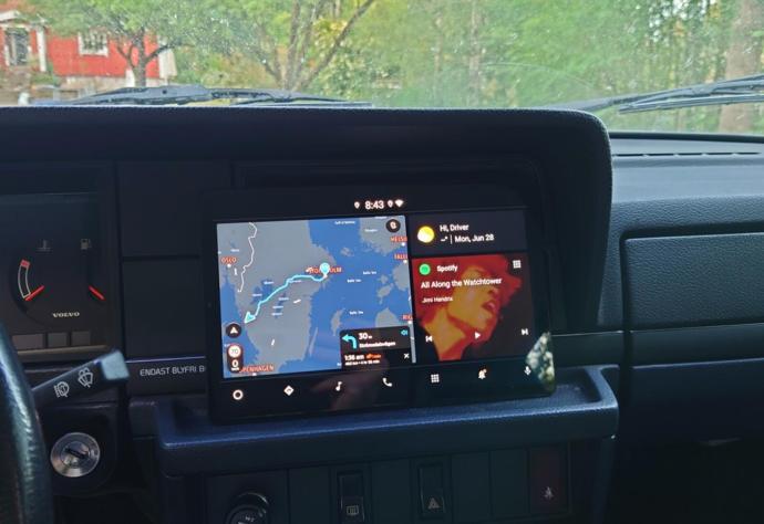Android Automotive Samsung Galaxy Tab