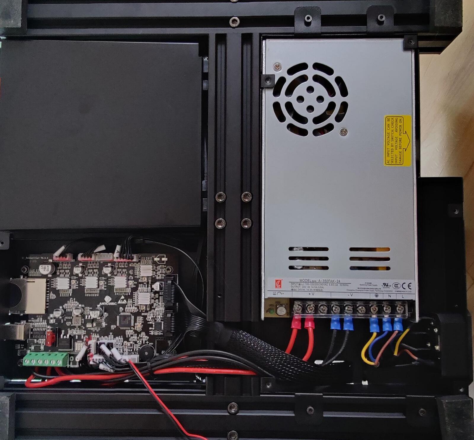 Anycubic Vyper Mainboard Und Netzteil