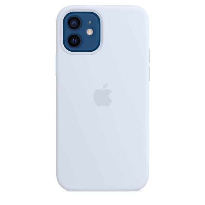 Apple Iphone 12 Silikon Case Wolkenblau
