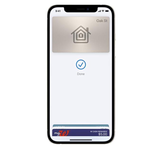 Apple Wallet Haus
