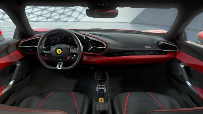Ferrari 296 Gtb Interieur