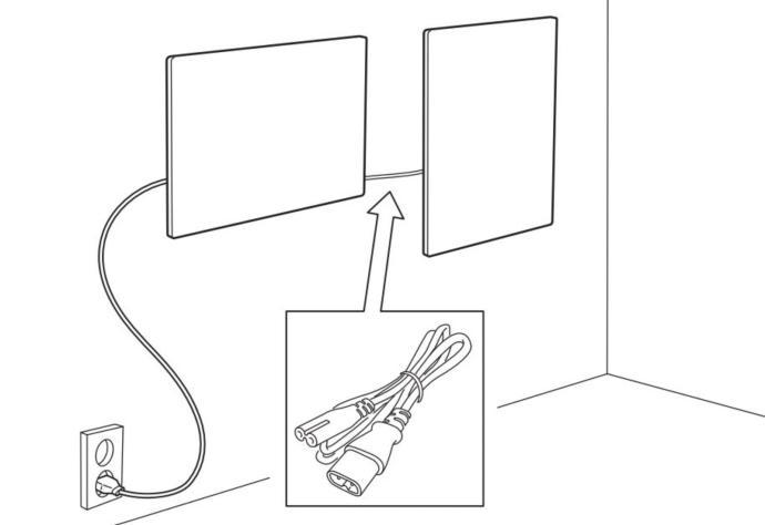Ikea Sonos Symfonsik Wand Lautsprecher Bild Kombo