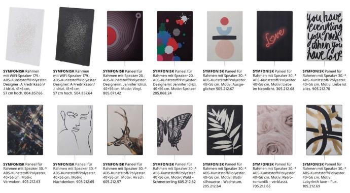 Ikea Symfonisk Rahmen Panels