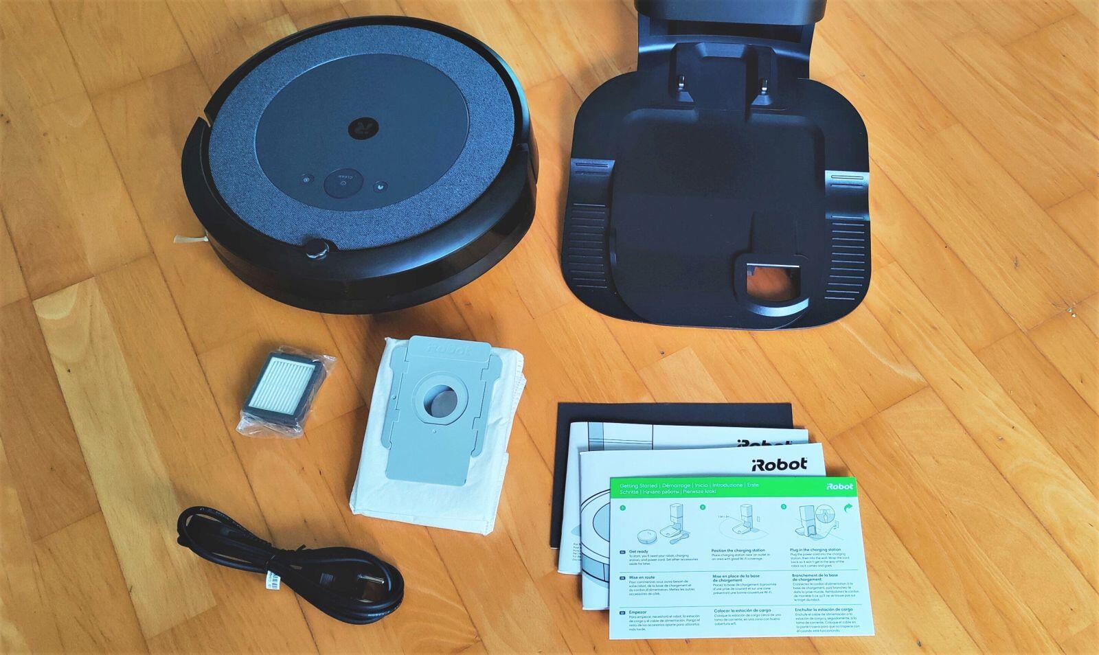 Irobot Roomba I3 Plus Lieferumfang 2