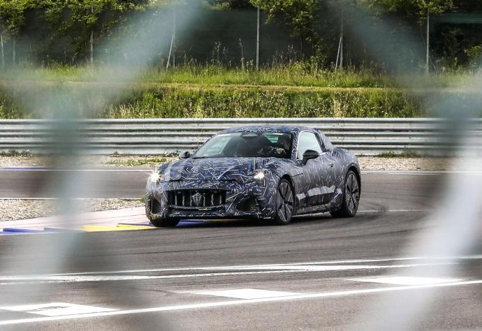Maserati Elektro Granturismo Rennstrecke