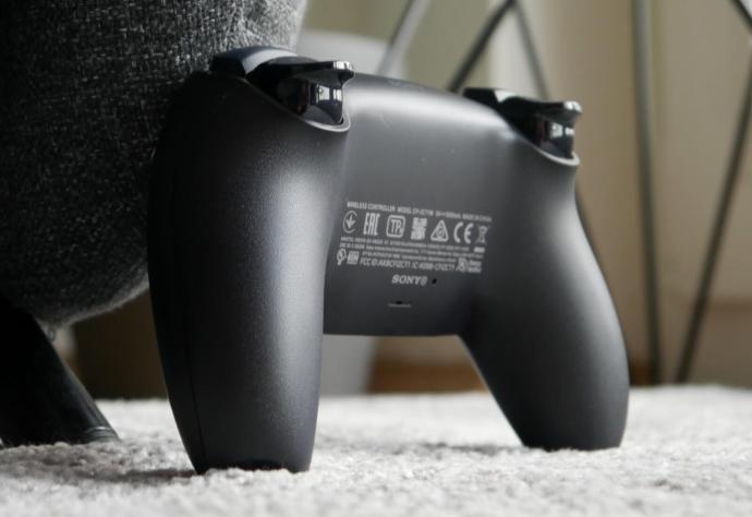 Playstation 5 Dualsense Schwarz Detail6