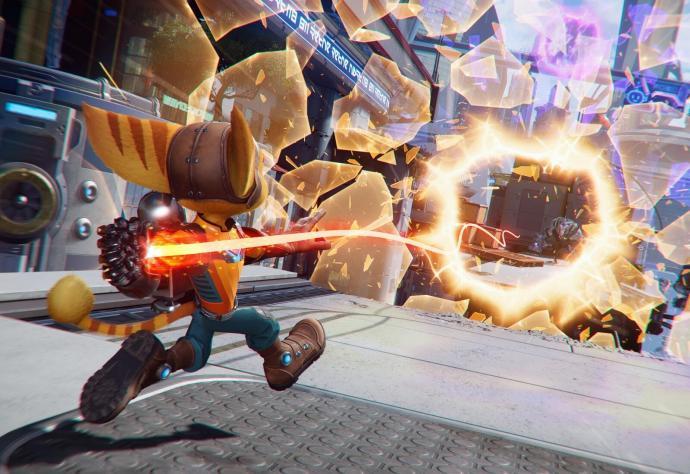 Ratchet Clank Rift Apart Bild Spalt