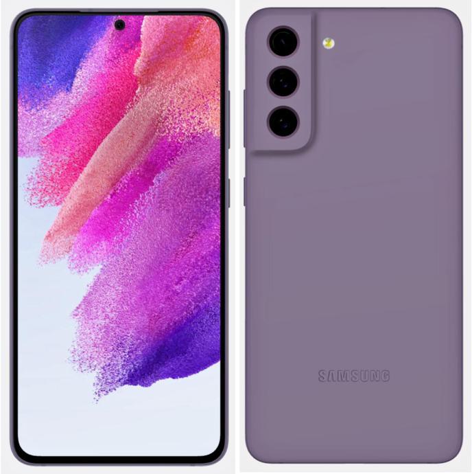 Samsung Galaxy S21 Fe Leak Lila