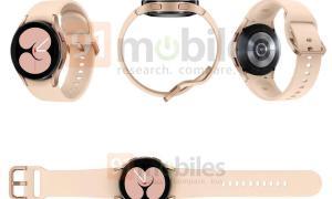 Samsung Galaxy Watch 4 Leak Gold