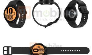 Samsung Galaxy Watch 4 Leak Schwarz