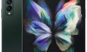 Samsung Galaxy Z Fold 3 Gruenjpeg