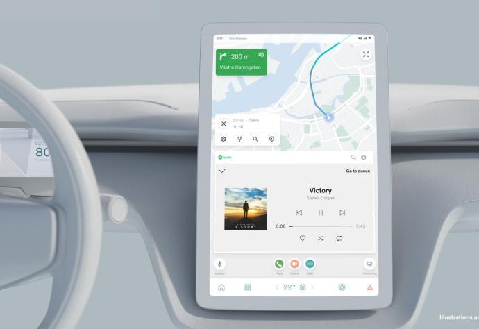 Volvo Android Automotive Neu