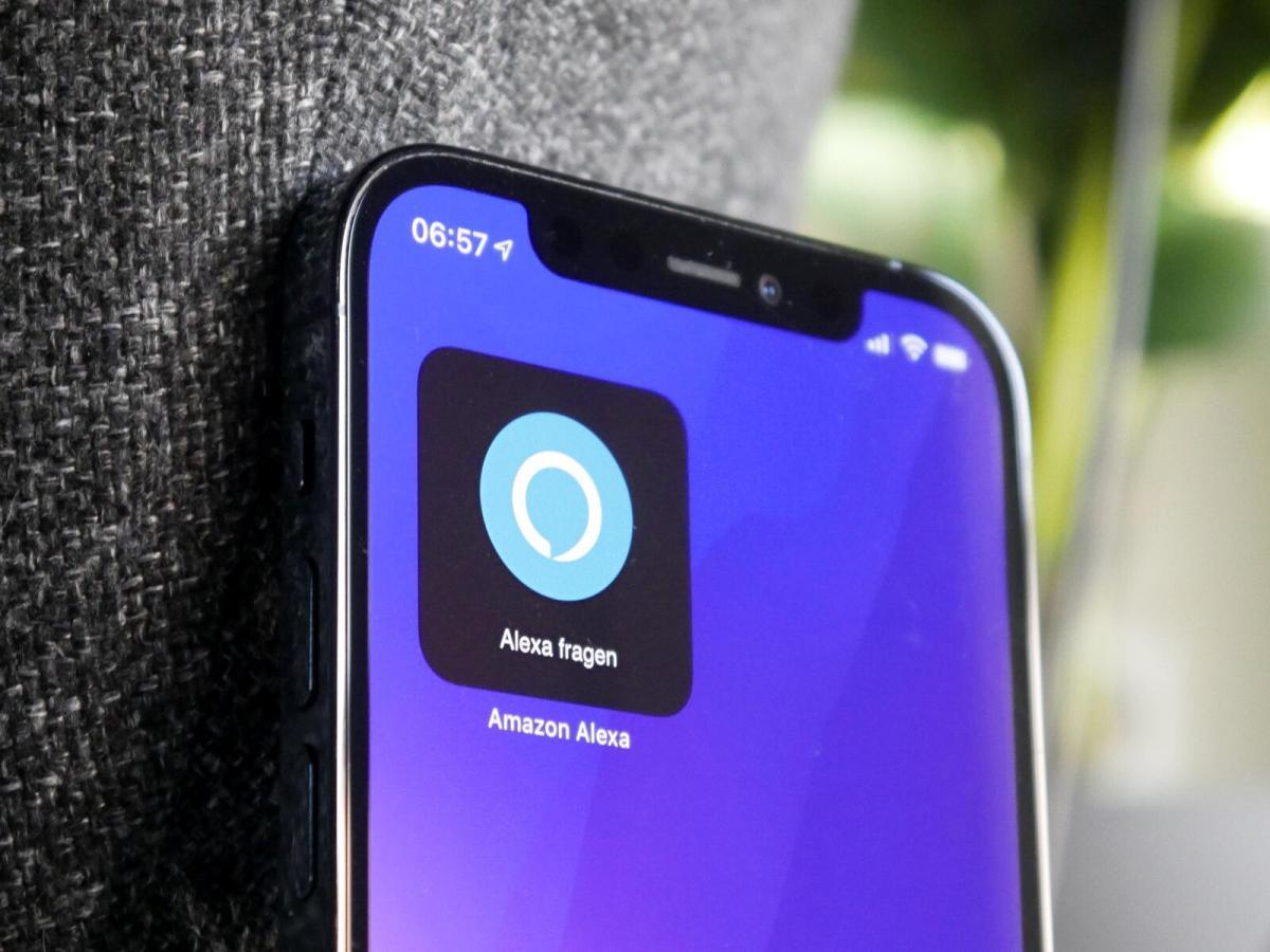 Amazon Alexa Ios Iphone Widget Header