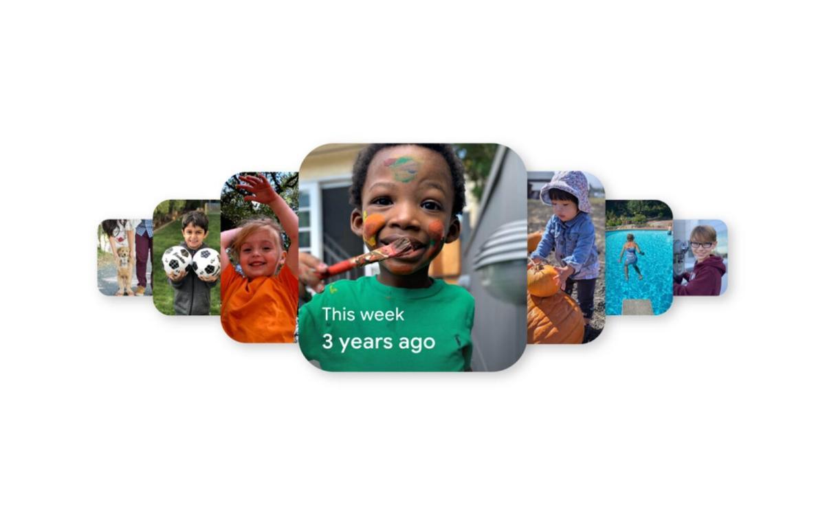 Google Fotos Erinnerungen Widgets