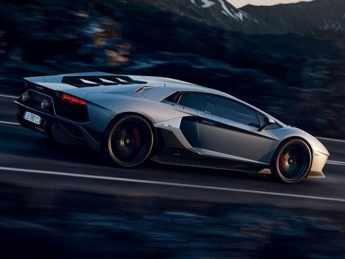 Lamborghini Aventador Lp 780 Ultimae Seite