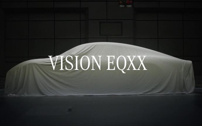 Mercedes Benz Eqxx Konzept Schrift