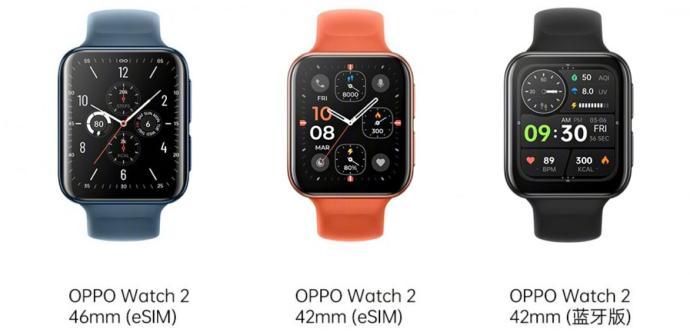 Oppo Watch 2 Modelle