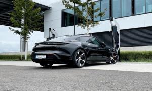 Porsche Taycan Hockenheim Laden Elektro Header
