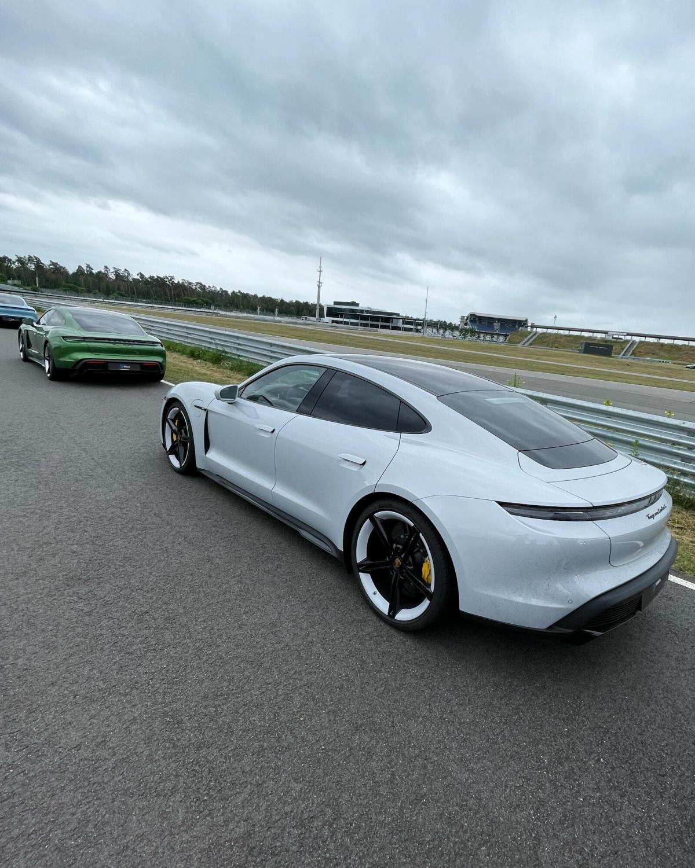 Porsche Taycan Hockenheim Strecke