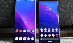 Samsung Galaxy S21 Ultra Sony Xperia 1 Iii Front