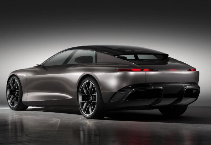 Audi Grandsphere Heck